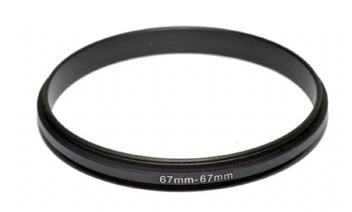 Coupling Ring Male-Male Thread 67-67mm Double Lens Reverse Macro Adapter